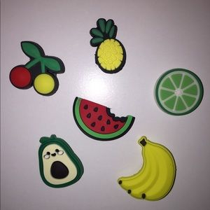 Fruit Crocs Charms